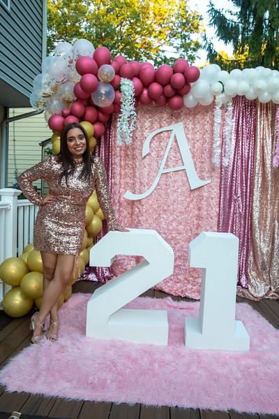 Amanda's 21st Birthday 10-16-2020
