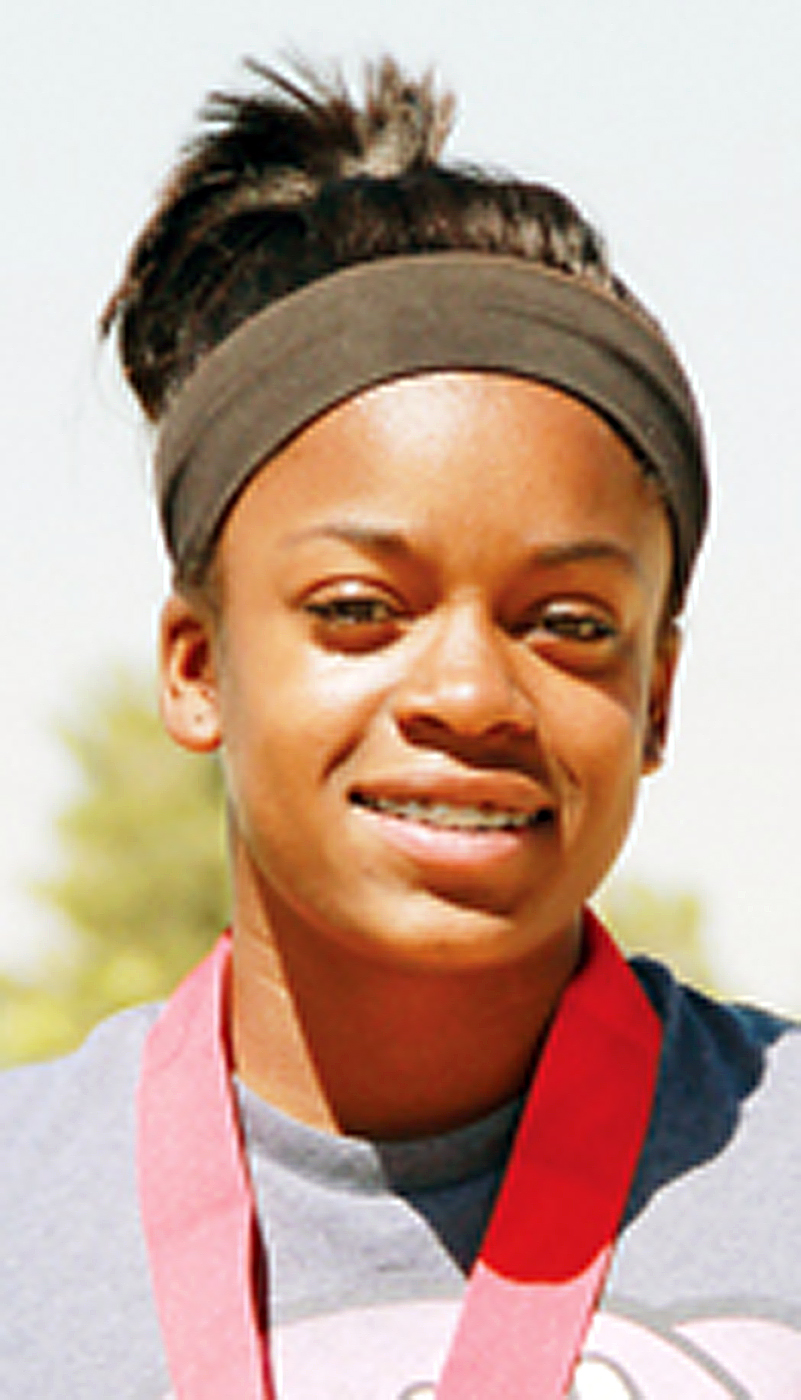 . Teyana Poole, from Yucca Valley High School, has been named to The Sun\'s All-Area track team. Courtesy photo to The Sun.
