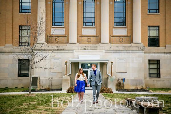 Abbigail & Jesse Color Engagement Photos