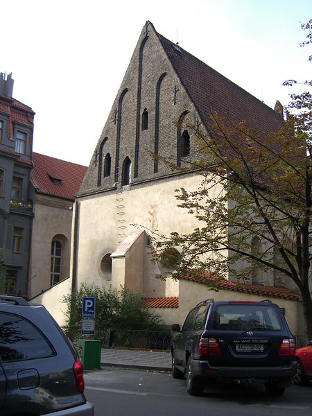 The Old-New Synagogue, 1270 AD.