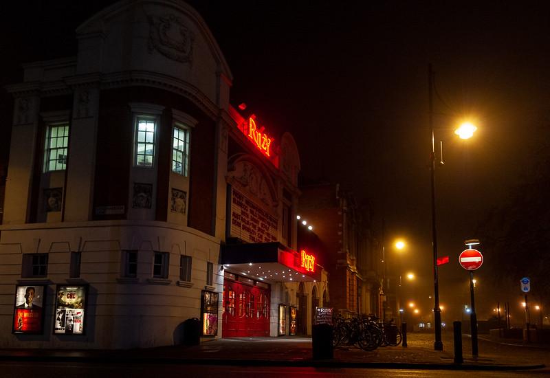 Ritzy Cinema in the fog