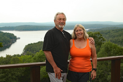 Kent and Deb Visit - August, 2017
