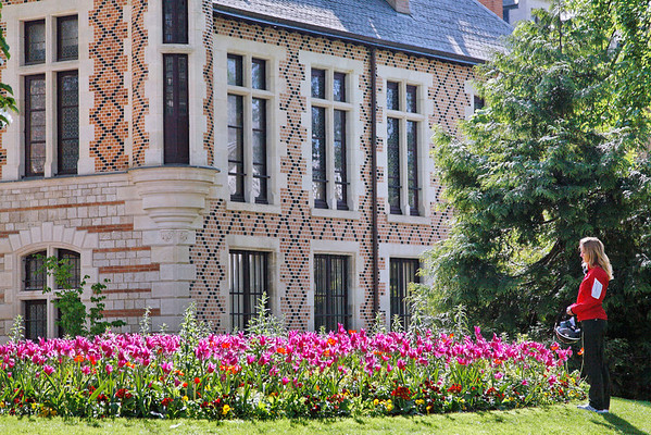 Jardin de l'Hôtel Groslot - Orléans -