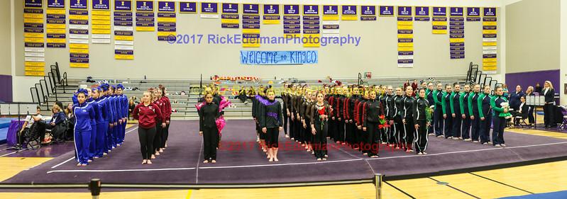 2016-2017 KingCo Gymnastics Meet