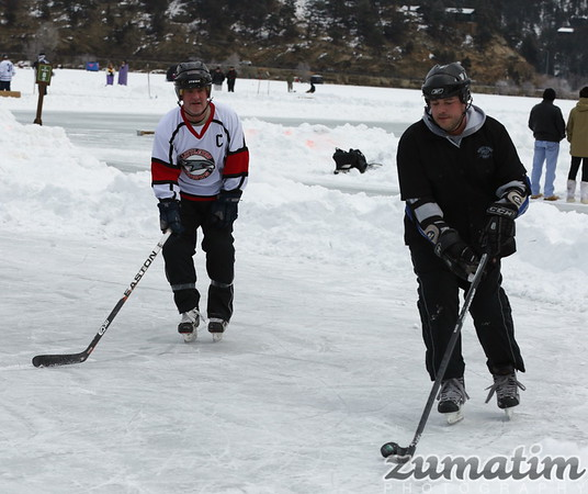 "2015 Evergreen Lake/ Tavoli ""Pond Hockey Championships"""