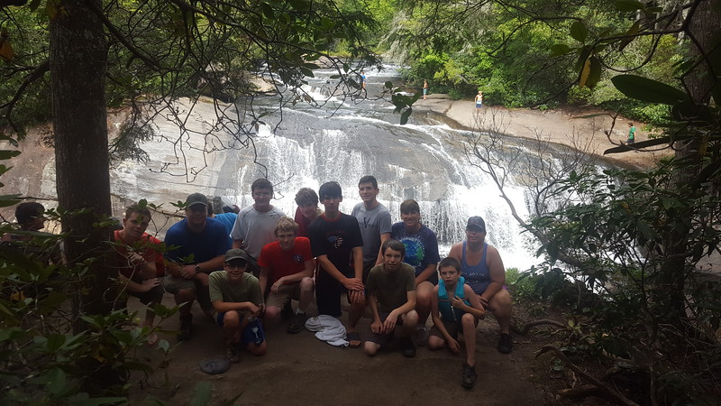 Troop 5 - Waterfall Tour - 8-25-2017