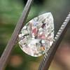 2.01ct Antique Pear Shape Diamond GIA G VS1 30