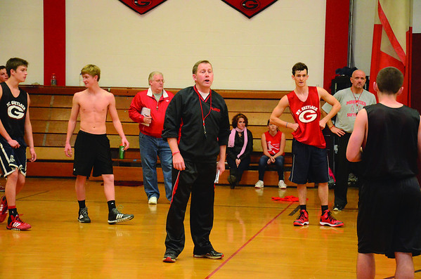 Mount Greylock Boys Basketball Practice