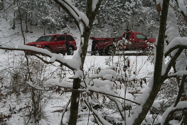 Snow causes accident on TN 352