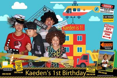 Keaden's 1st Birthday