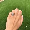.88ctw Antique Navette Diamond Ring 10