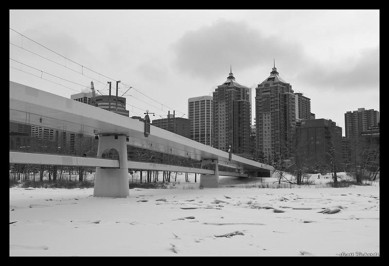 Bridge and Towers