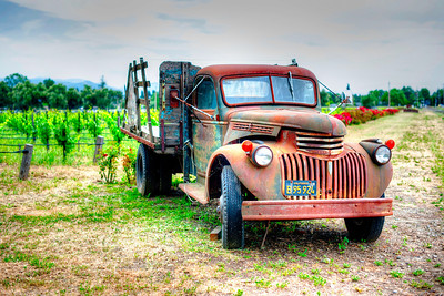 California Chevy in Wine Country