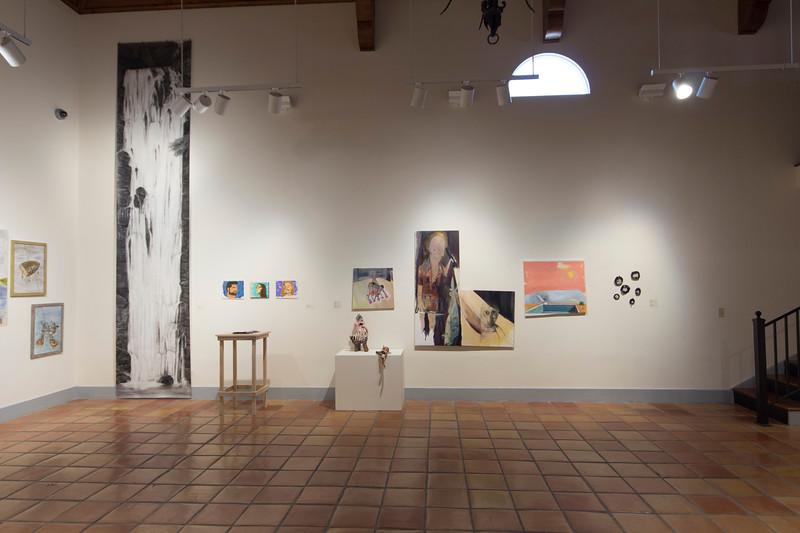 BFA & BA Senior Portfolio Exhibition Spring 2018, Installation View