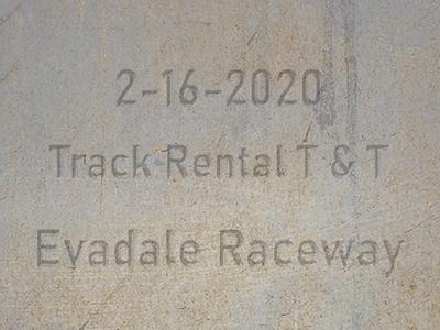 2-16-2020 Evadale Raceway  'Track Rental Test & Tune'
