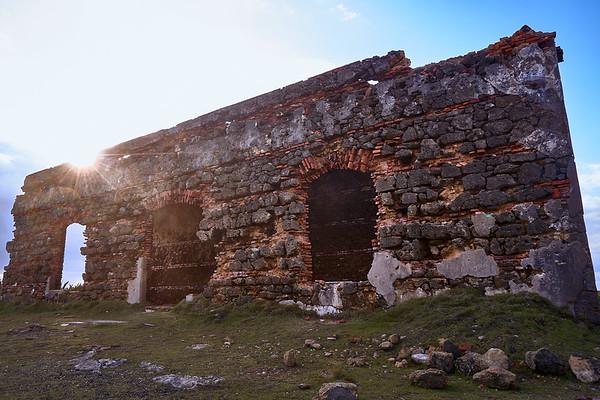Leprocomio, Isla de Cabras