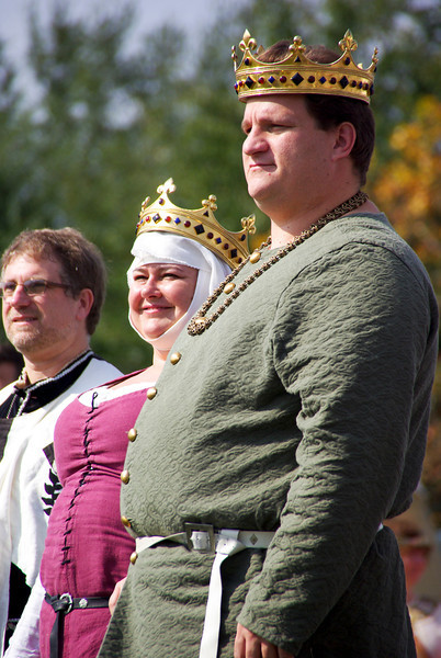King Thomas and Queen Elisenda