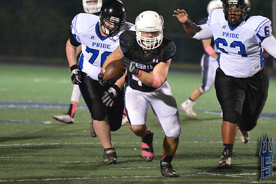 Charlotte Christian Knights vs. Carolina Pride - 10/10/14