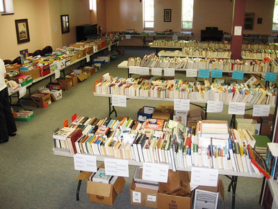 Book & Bake Sale 2009