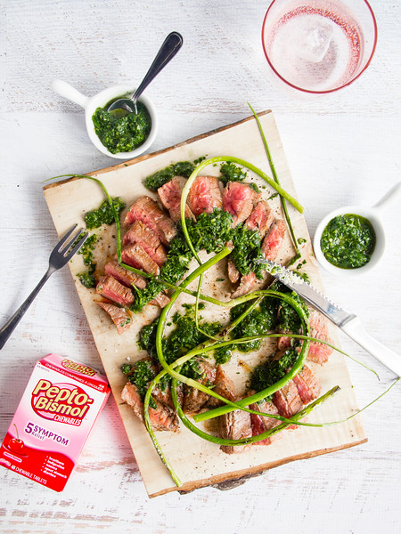 grilled steak pepto bismol pills.jpg