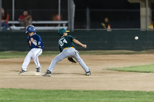 Roseville West Little League Major Tigers vs A's May 13 & 15, 2014
