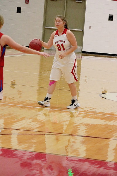 WHS Girls Basketball vs Cheney HS  120717