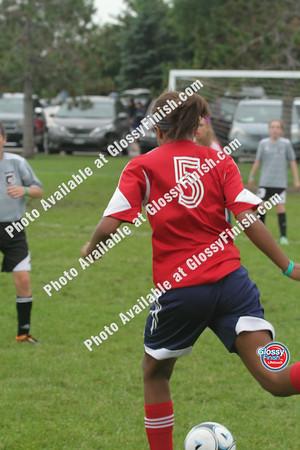 U12 Girls - FC United Thunder Red vs WSEU Selects