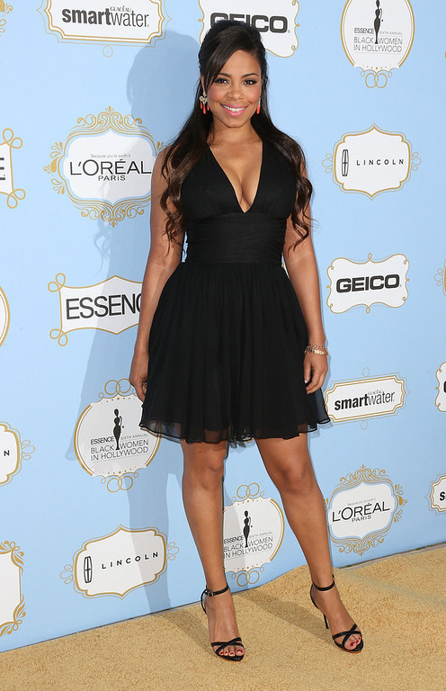 . Actress Sanaa Lathan attends the Sixth Annual ESSENCE Black Women In Hollywood Awards Luncheon at the Beverly Hills Hotel on February 21, 2013 in Beverly Hills, California.  (Photo by Frederick M. Brown/Getty Images)