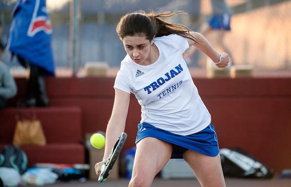 2018-02-08 TCA-Addison - FW Nolan Varsity Tennis