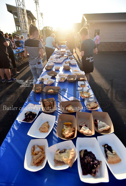 68655 Butler High School marching band pie festival at Art Bernardi Stadium