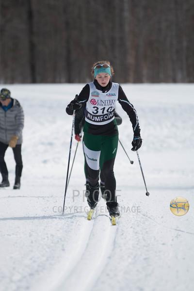 Girls EHSC & U16 5K Classical Maine Qualifier