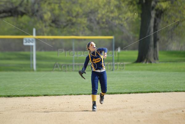 varsity softball v. pec . senior morning . 5.17.14