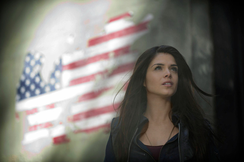 . The 100 -- Pictured: Marie Avgeropoulos as Octavia (Photo by Cate Cameron/The CW)