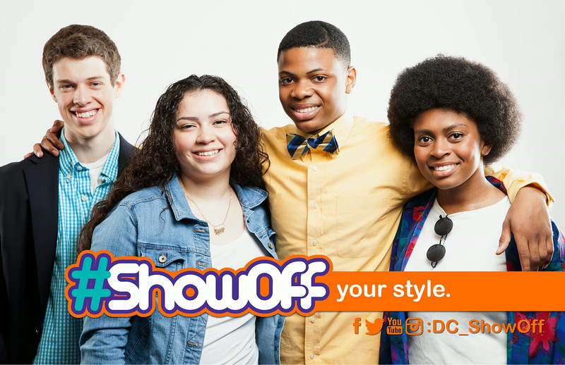 #ShowOff Your Style: Encourages individuality in DC youth through personal uniqueness.