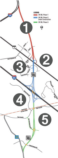 SR 9B Phase redo