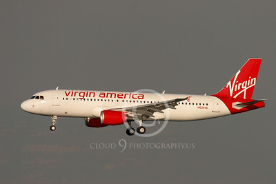 Virgin America Airline Airbus A320 Airliner Pictures