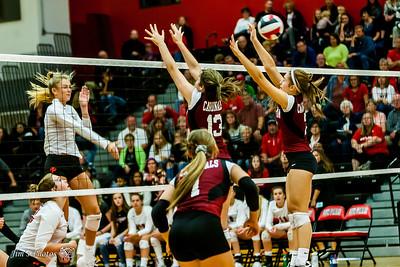 HS Sports - Sun Prairie Girls Volleyball - Sept 07, 2017