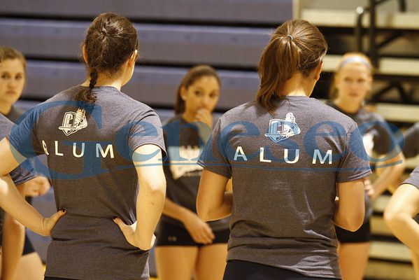 Spring 2012 Alumni Volleyball Game
