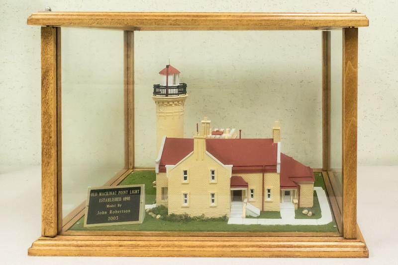 Old Mackinac Point Light - 1890, Model built 2003