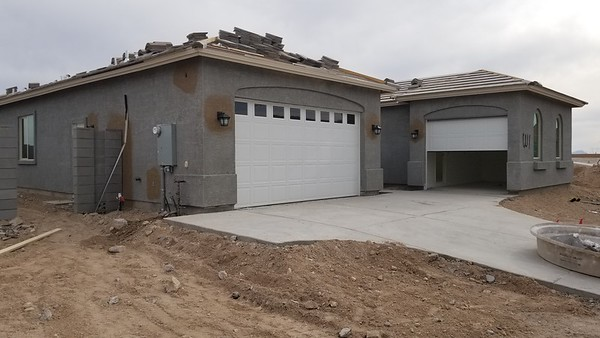2019-05-02 Garage Doors and Yard Walls
