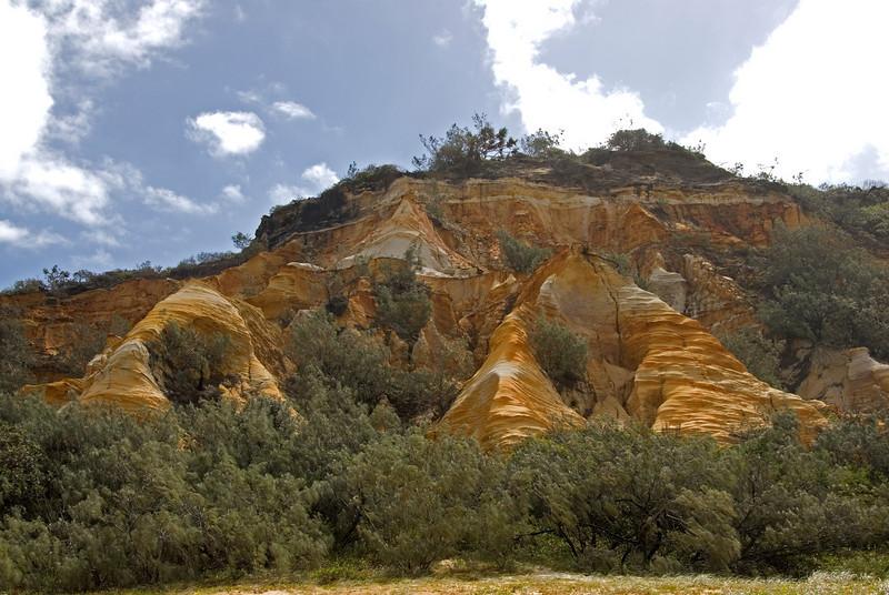 Erosional Formation, Fraser Island - Queensland, Australia