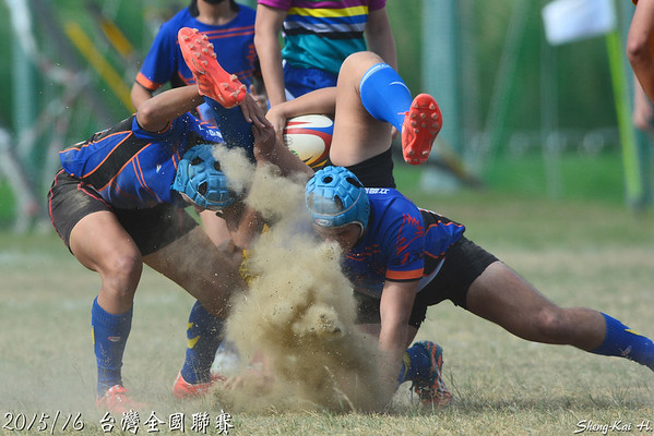 2015/16台灣全國橄欖球聯賽-高中組(Taiwan Rugby National League-Senior High School Group)