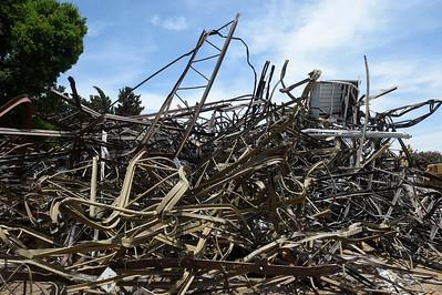 Andrews FieldHouse Demolish 07-03-19