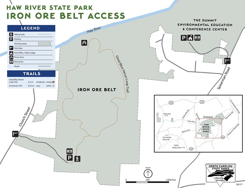 Haw River State Park (Iron Ore Belt Access)