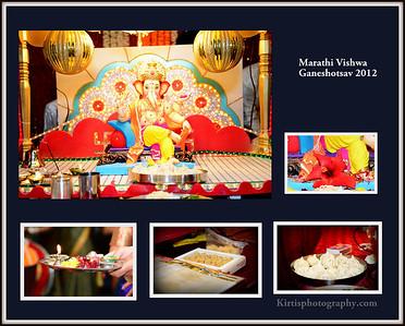 Marathi Vishwa Ganeshotsav 2012