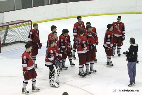 Wasilla Vs. South 2-10-2011