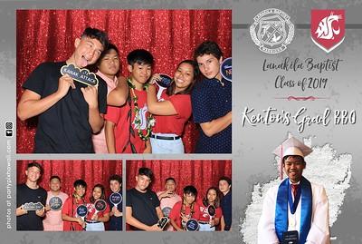 Kenton's Graduation (LED Dazzle Photo Booth)
