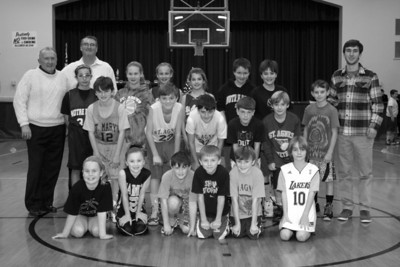 St. Agnes CYO 1st Annual Timmy O'Brien Dribble,  Pass & Shoot Competition