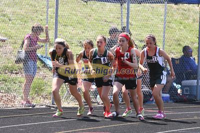 D3 Girls' 3200 Meter Final - 2014 MHSAA LP T&F Finals