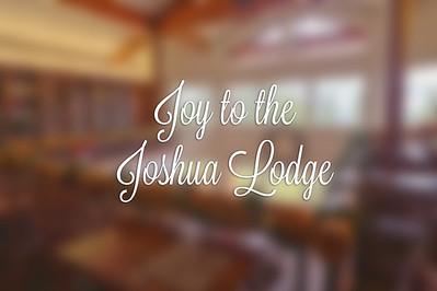 Decorating Joshua Lodge